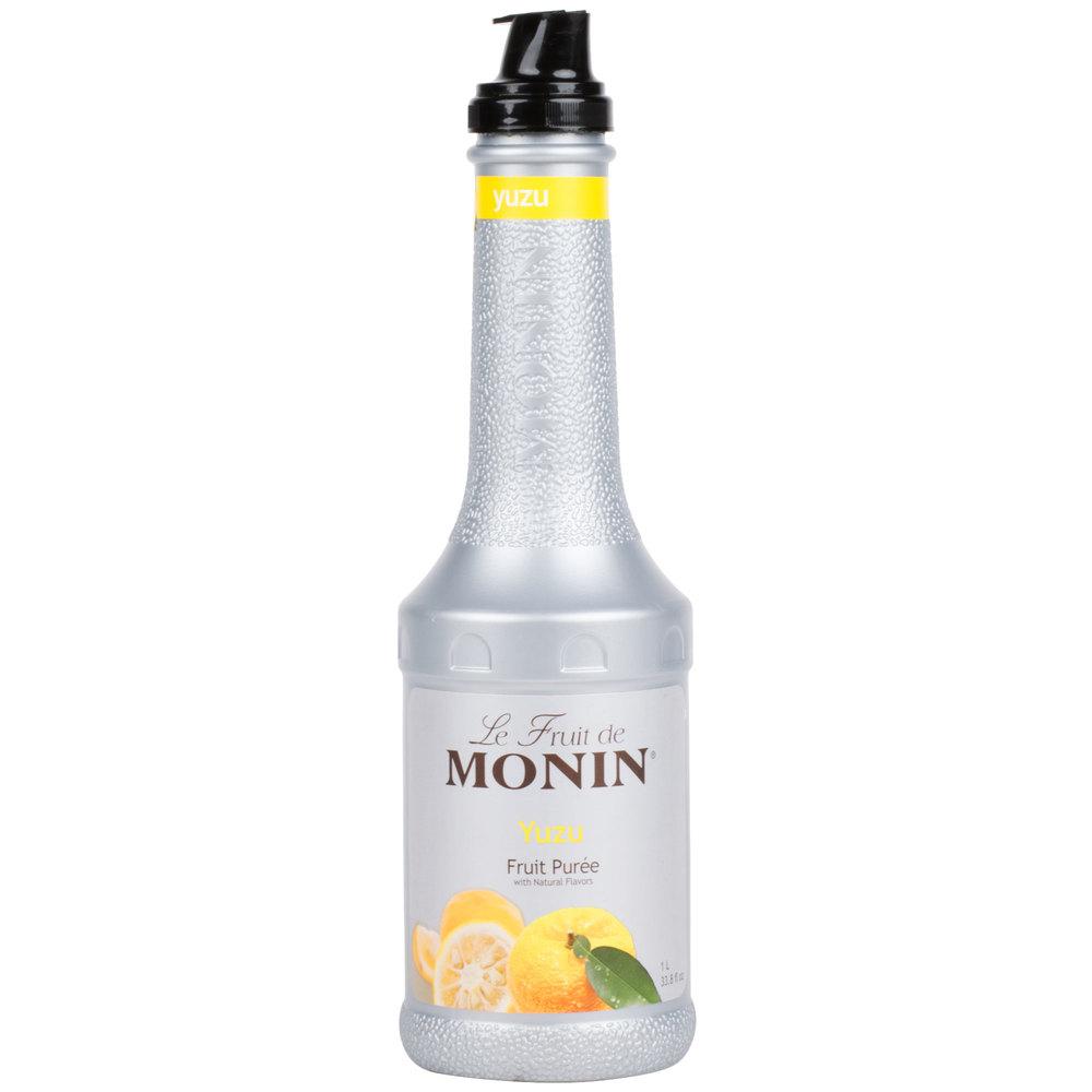 Monin 1 Liter Yuzu Fruit Puree