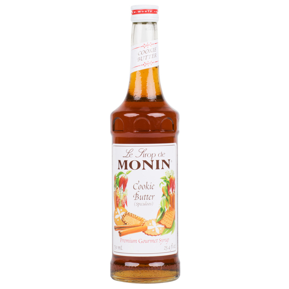 c0b13d5a401 Monin 750 mL Cookie Butter Flavoring Syrup