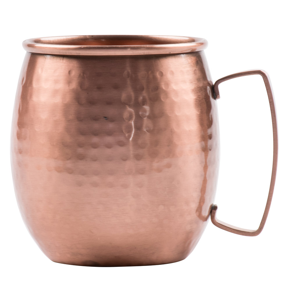 clipper mill by get cprmug02 21 oz moscow mule mug with hammered copper finish - Mule Mug