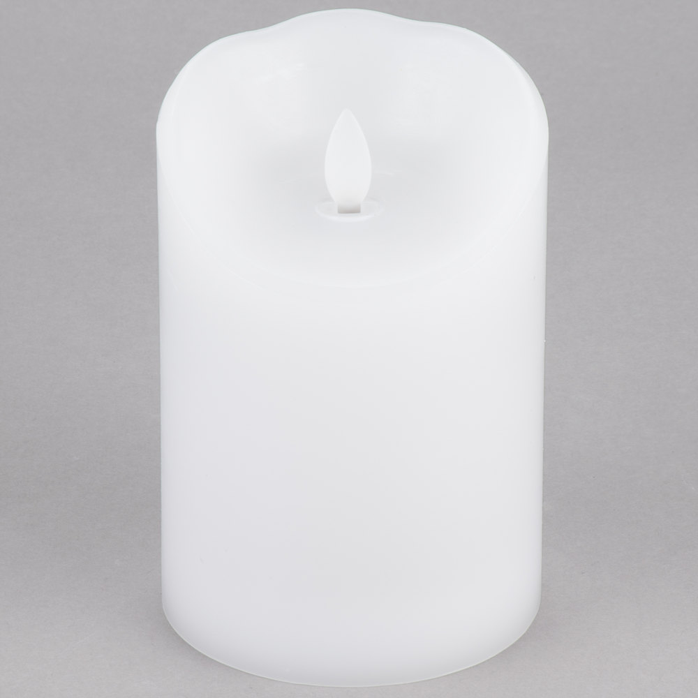 Sterno Products 60156 Mirage 5 1 2 Quot White Programmable