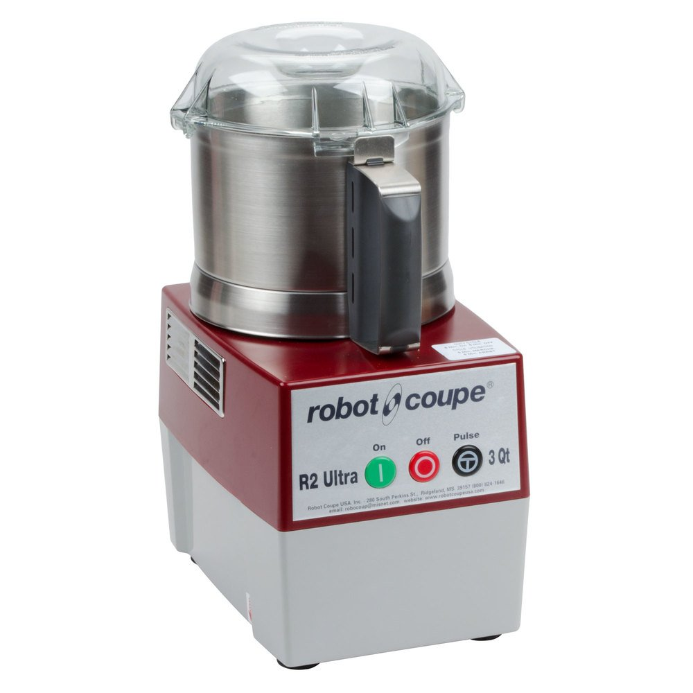 robot coupe r2 ultra b food processor with 3 qt stainless steel bowl 1 hp. Black Bedroom Furniture Sets. Home Design Ideas