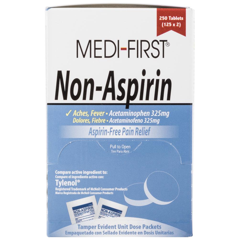 Is Acetaminophen Aspirin Or Tylenol