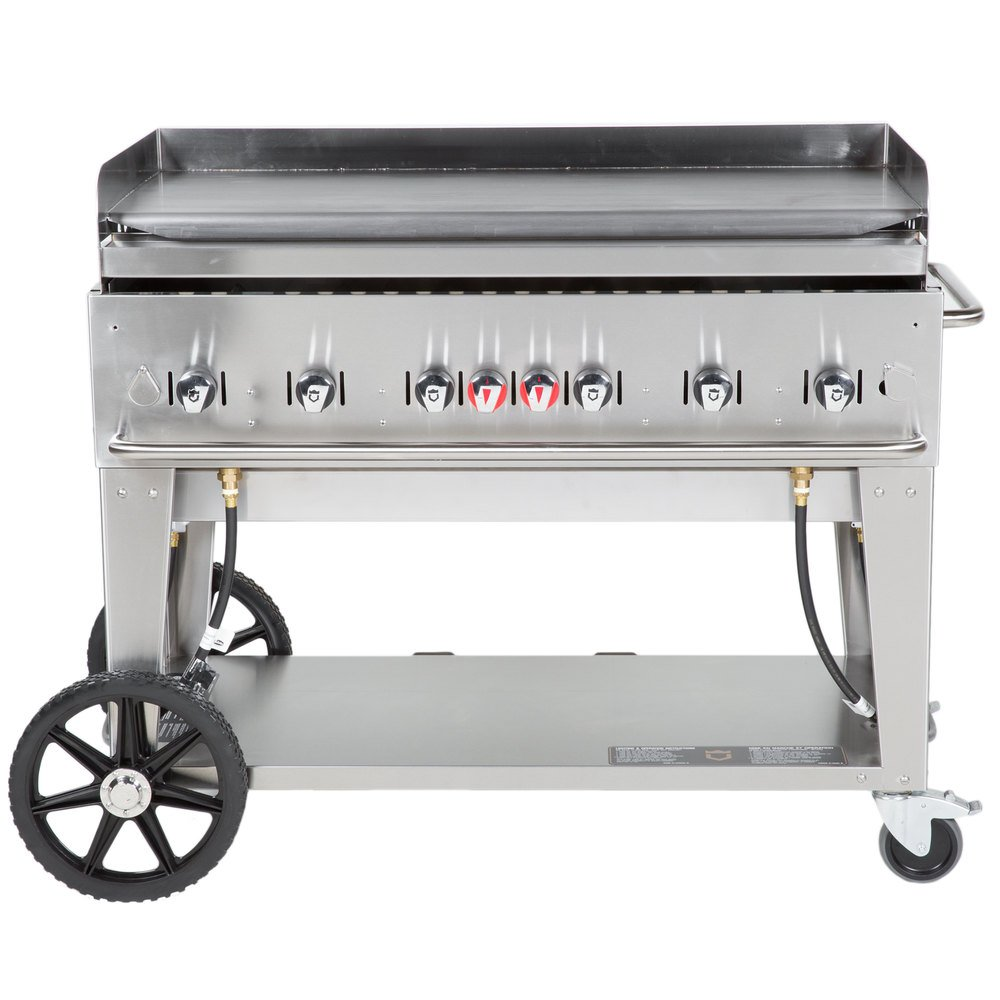 "Crown Verity MG-48 48"" Portable Outdoor Griddle"