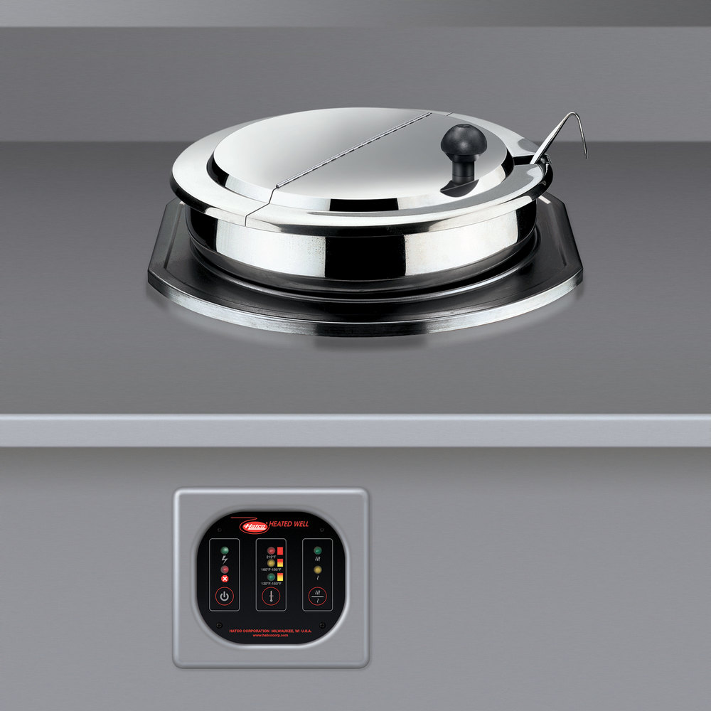 Hatco Rhw 1b 11 Qt Single Drop In Round Heated Food Well