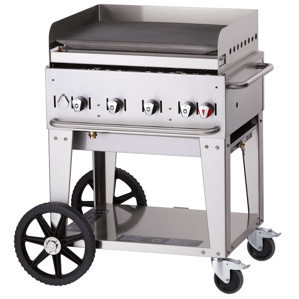 "Crown Verity MG-30 28"" Portable Outdoor Griddle"