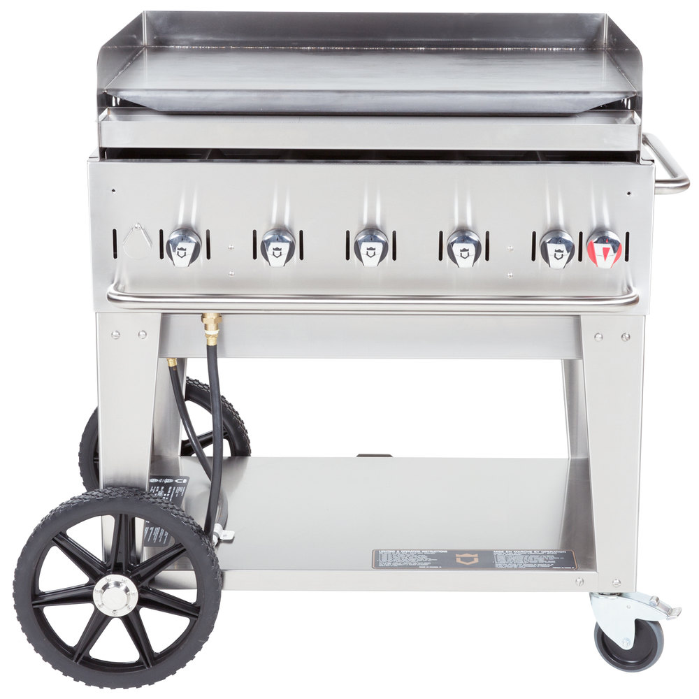 "Crown Verity MG-36 36"" Portable Outdoor Griddle"