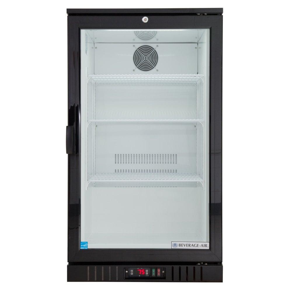 Beverage Air Ct96 1 B Led Black Countertop Display Refrigerator With Freezer Wiring Diagram Swing Door