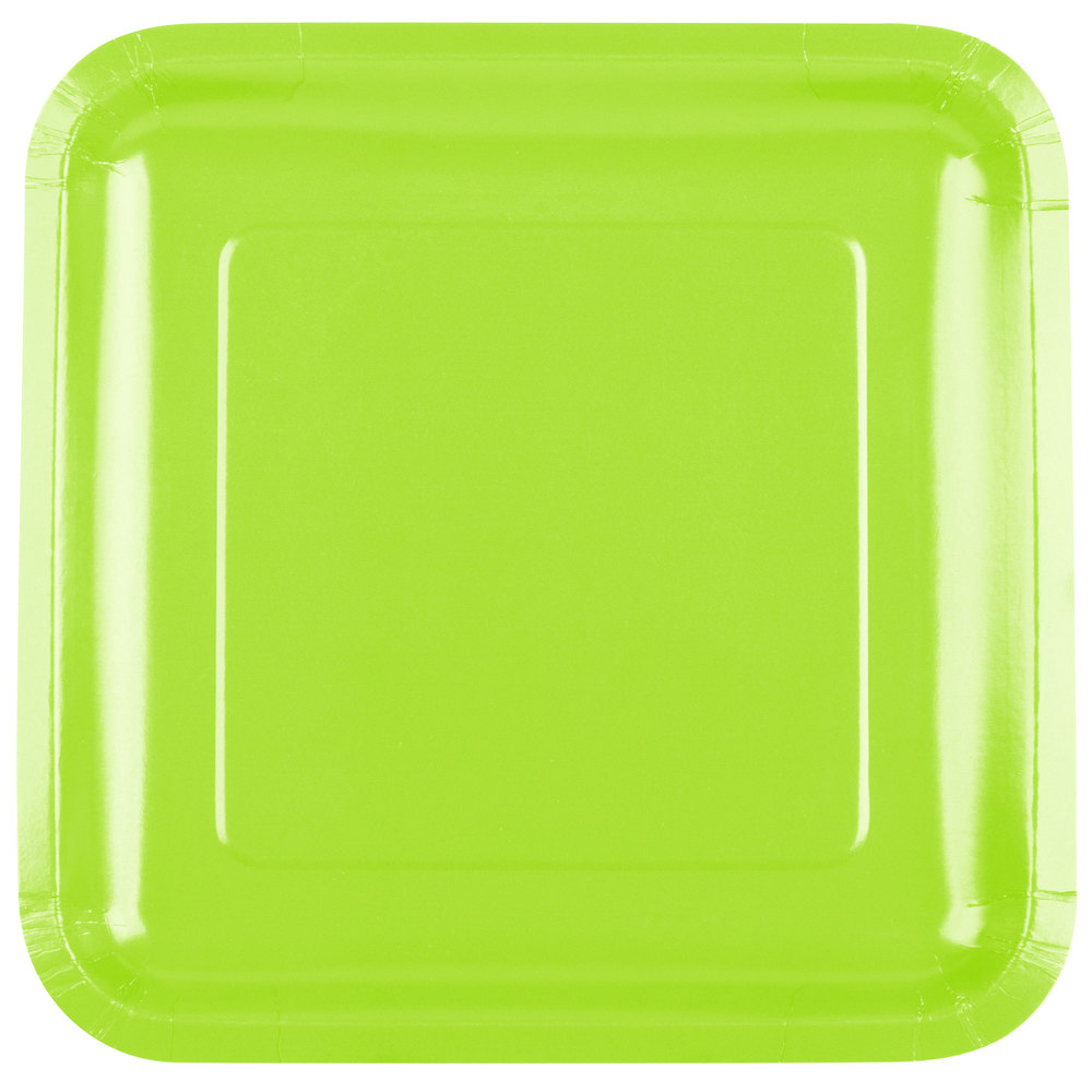green paper plates Add a pop of color to your party table with these elegant square emerald green paper dessert plates pack of 16 square 7 emerald green paper plates make it easy to serve a big crowd.