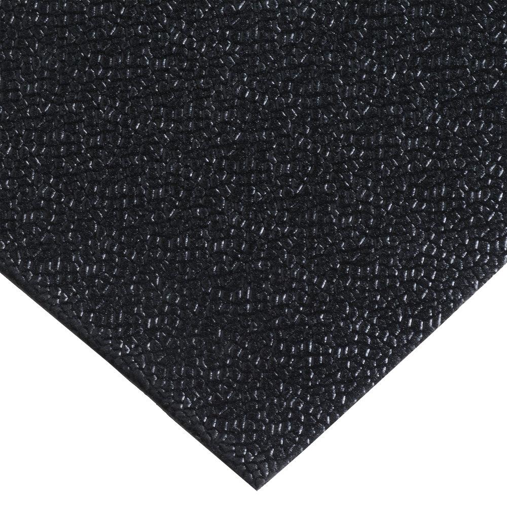 """Rug Vinyl Runner: Cactus Mat 1001R-C4 48"""" X 60' Pro-Tekt Black Vinyl Carpet"""