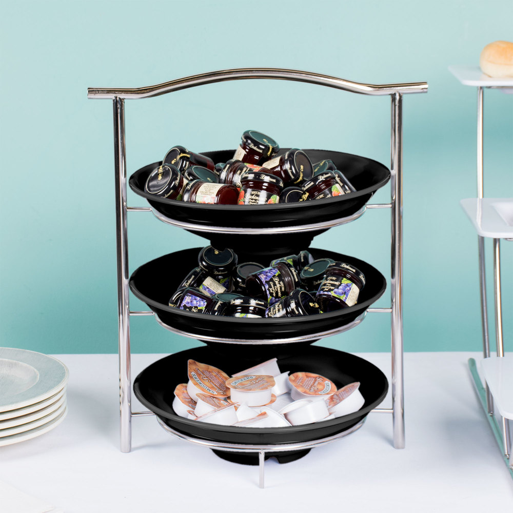 Exhibition Stand Round : Get mts ml bk set tier display stand with qt