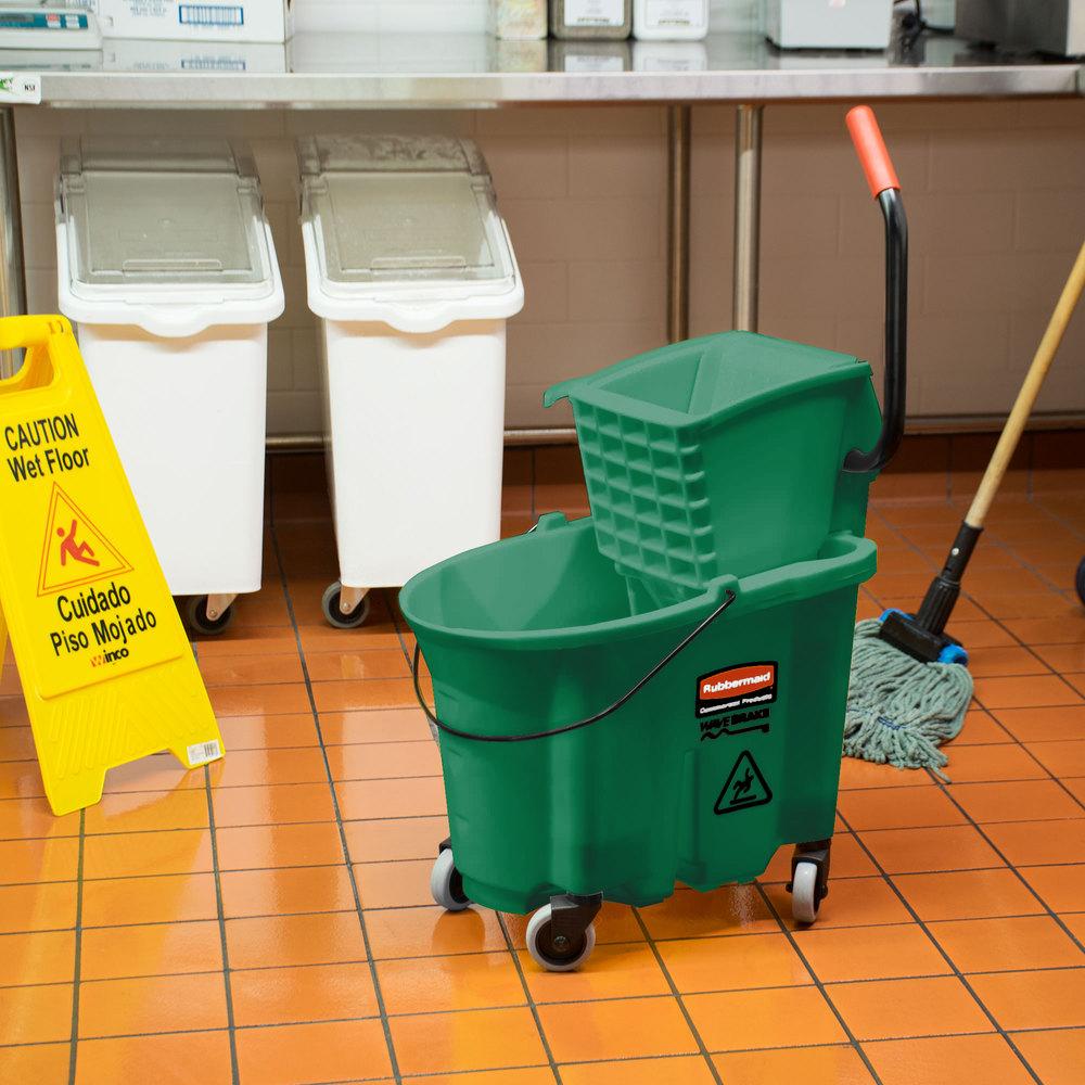 how to fix mop bucket wringer