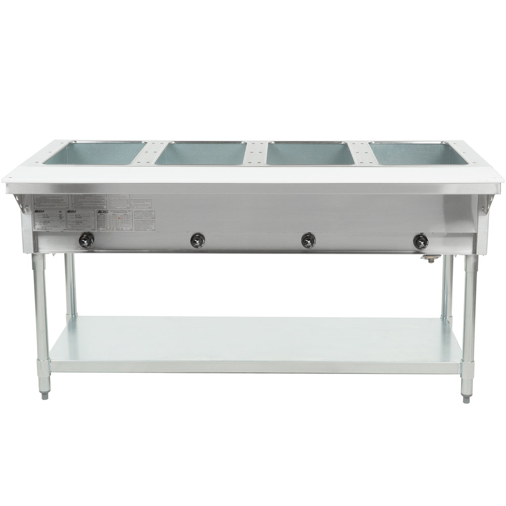 Eagle Group Ht4 Natural Gas Steam Table Four Pan 14 000
