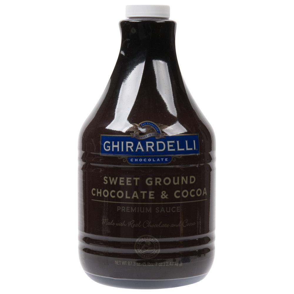 Ghirardelli 64 Fl Oz Sweet Ground Chocolate Amp Cocoa