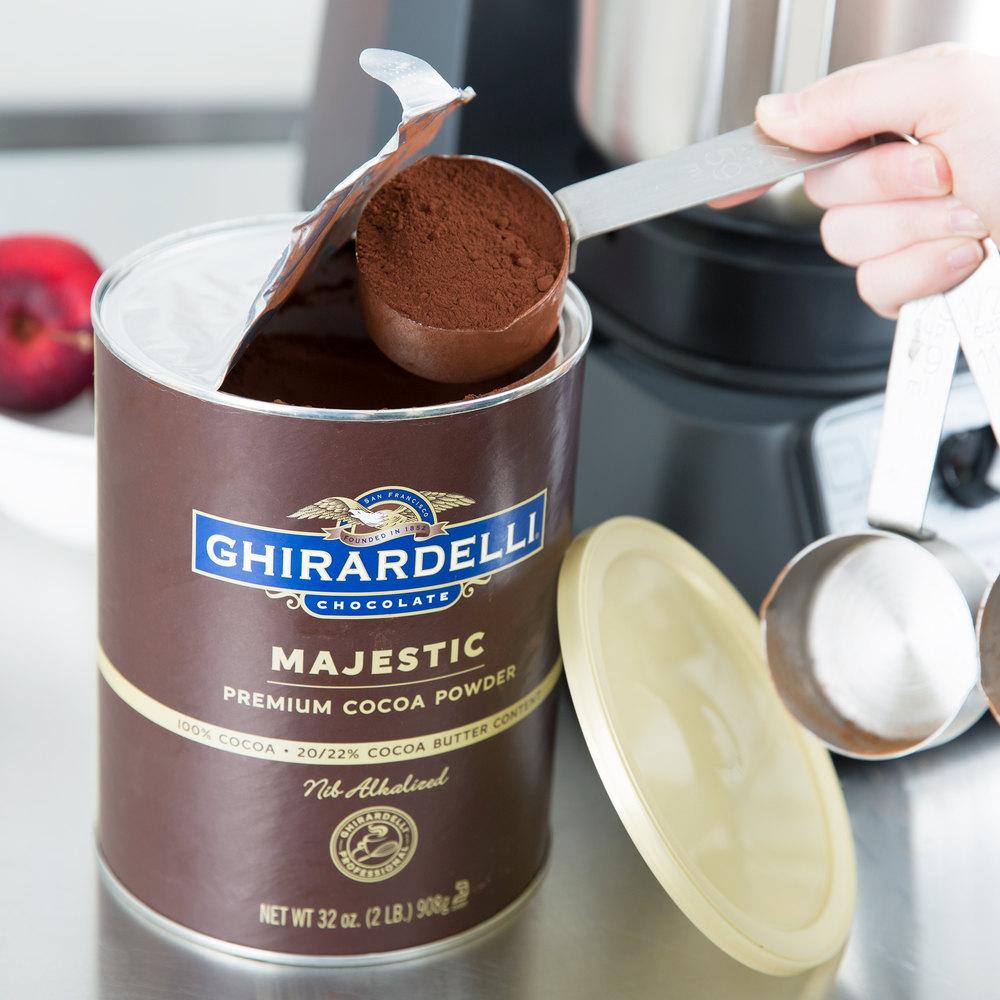 Ghirardelli cocoa powder chocolate cake recipe