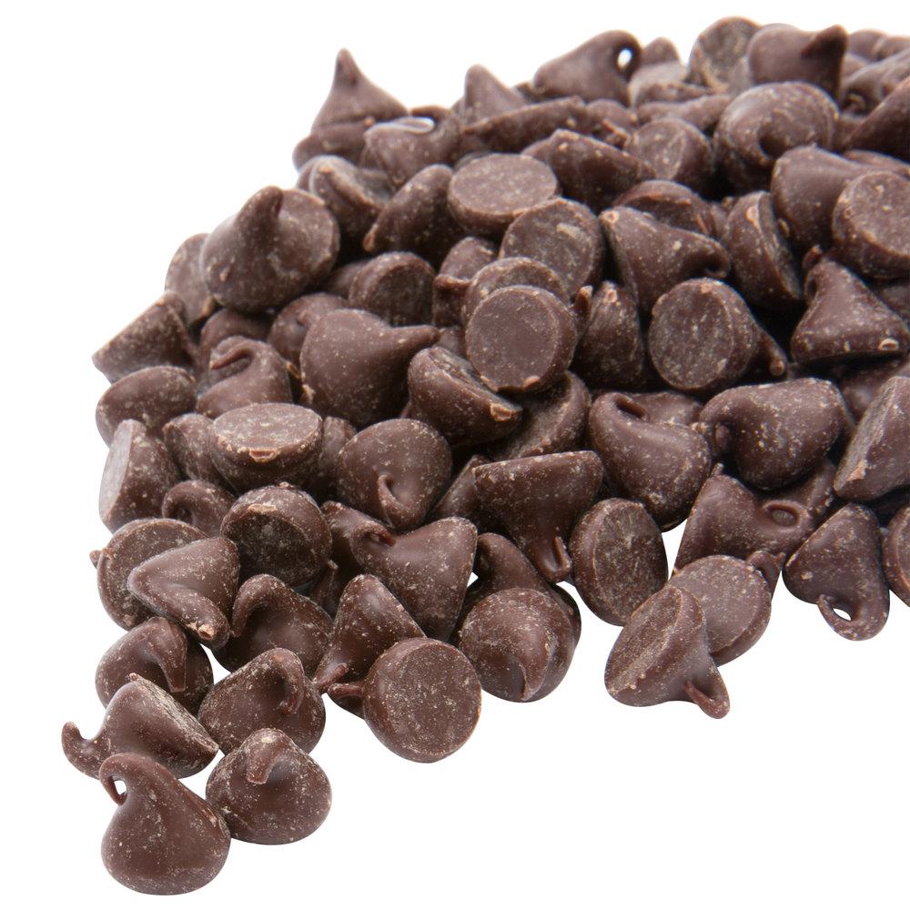 Ghirardelli 25 lb. Semi-Sweet Chocolate 1M Baking Chips