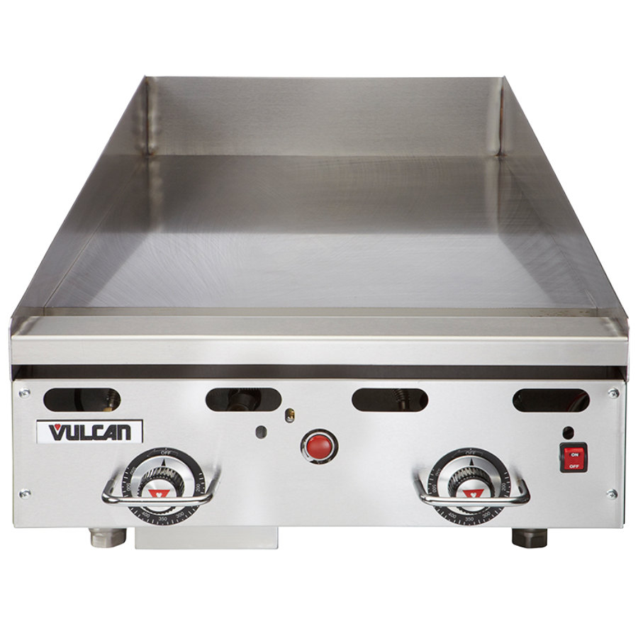 24 Gas Griddle ~ Vulcan msa quot countertop natural gas griddle with
