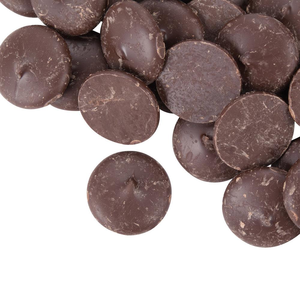 Ghirardelli 5 lb. Queen Dark Chocolate Wafers