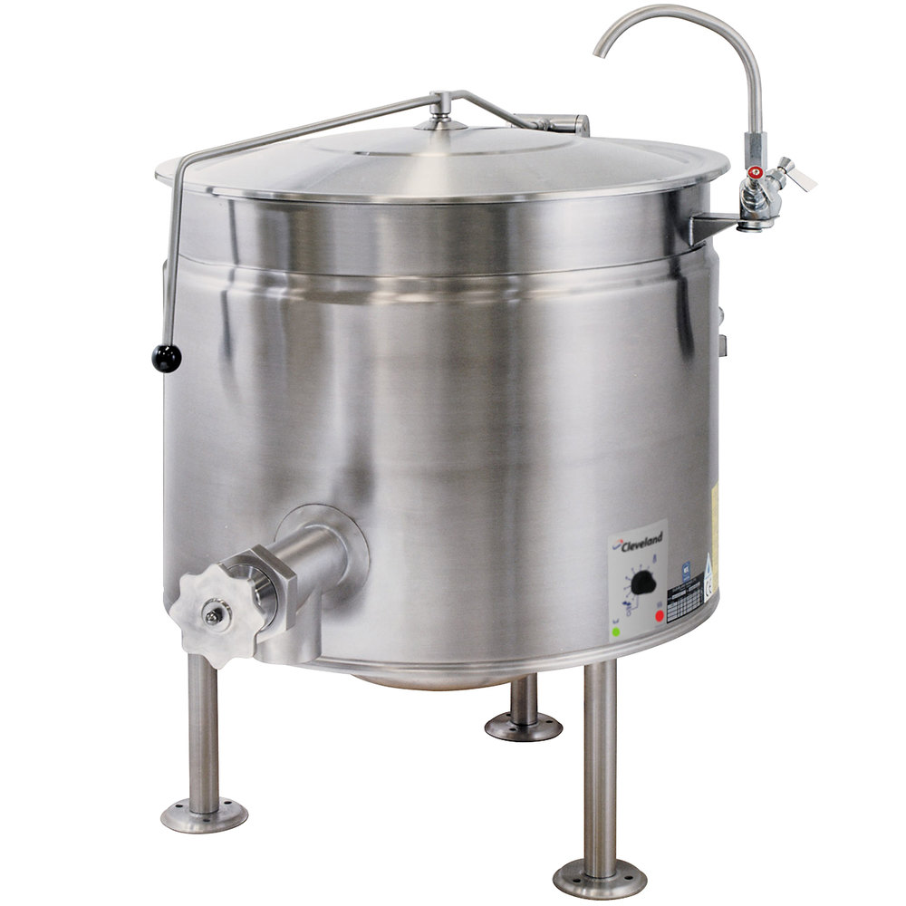 Cleveland Kel 40 Sh Short Series 40 Gallon Stationary Full