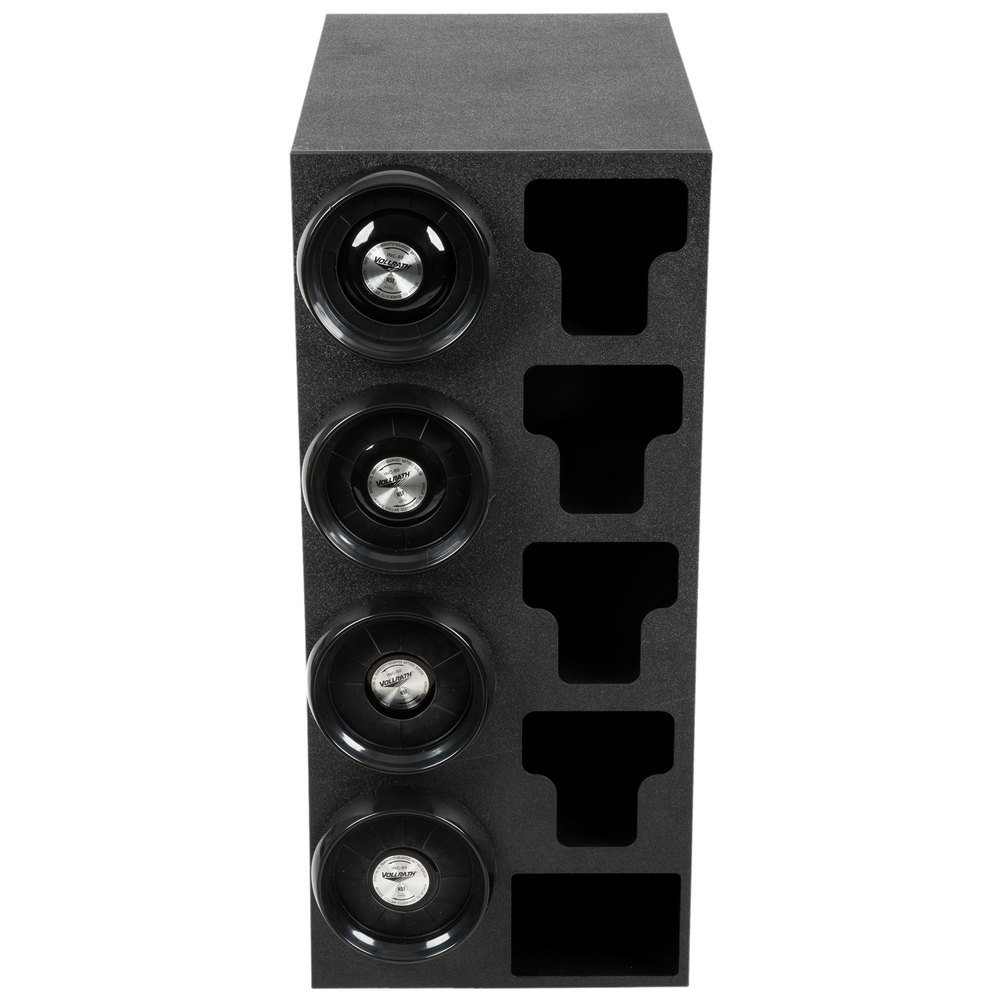 Vollrath G58807 8 44 Oz Countertop 4 Slot Black Cup