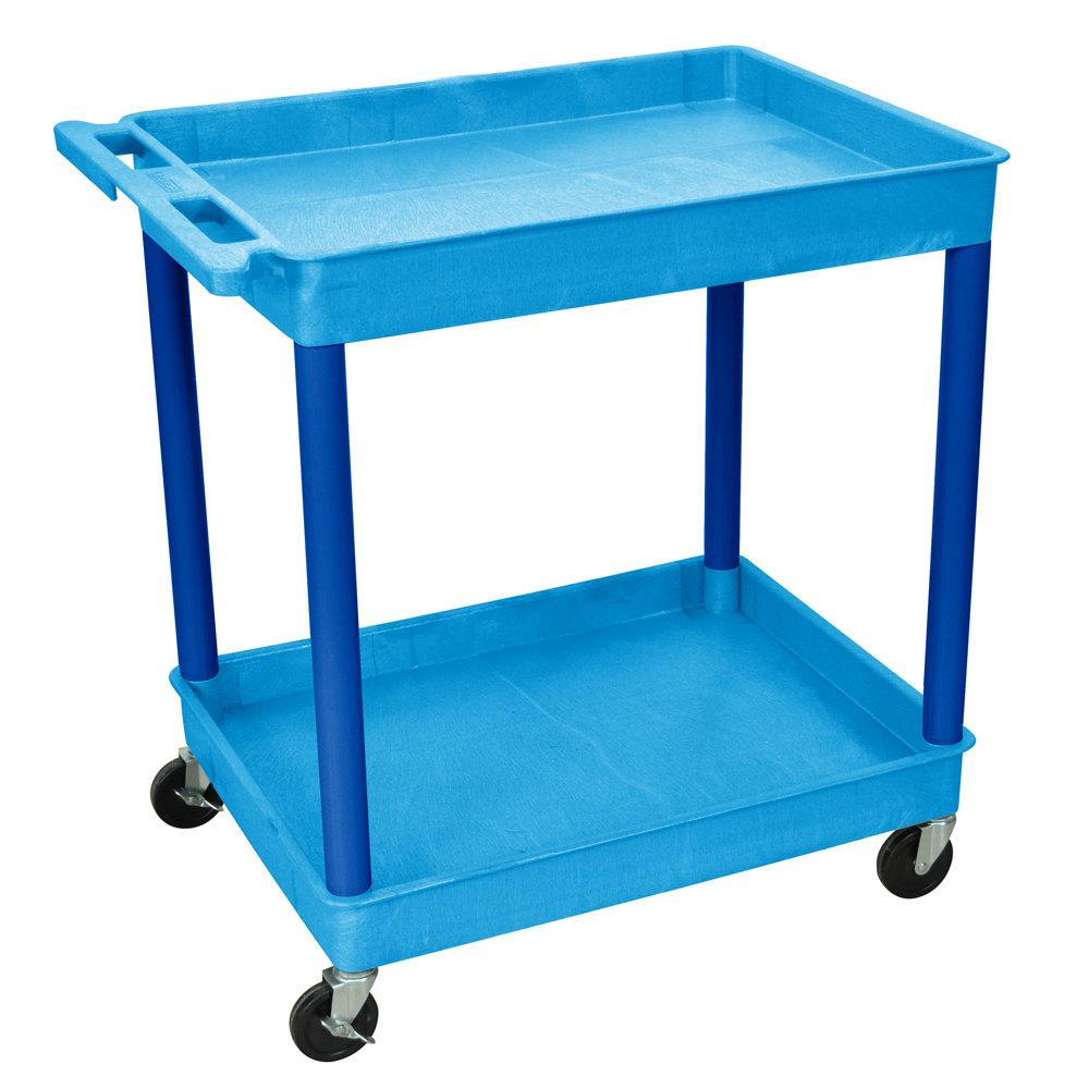 Luxor 3 Shelf Tub Utility Cart