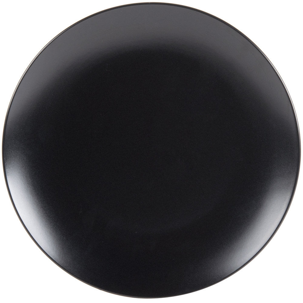 10 Strawberry Street Wm 1 Blk Wazee Matte 10 1 2 Quot Round