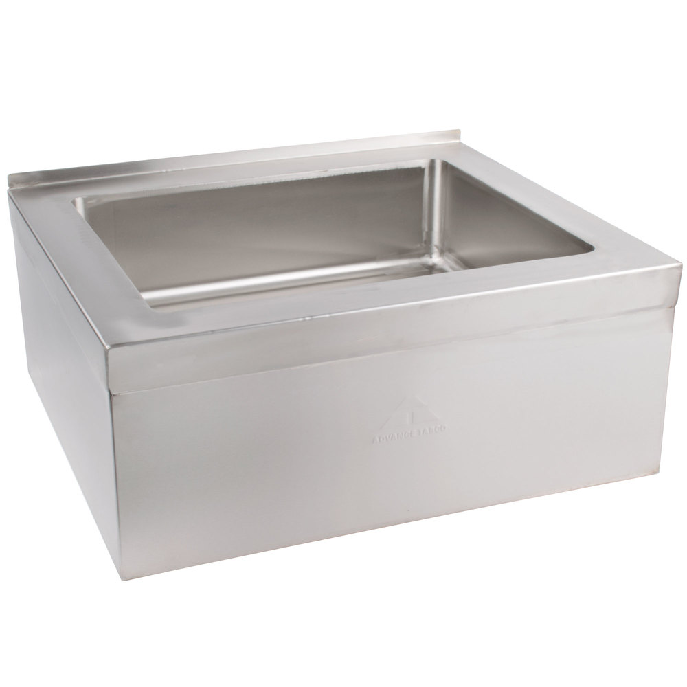 Corner Mop Sink : ... +Sink Advance Tabco 9-OP-28 20
