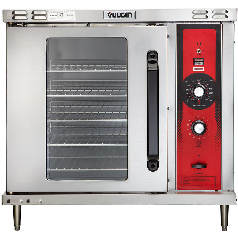 Vulcan Gco2d Lp Liquid Propane Single Deck Half Size Gas