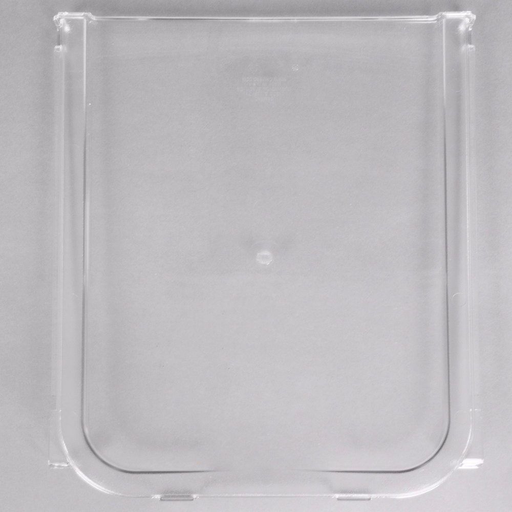 Cambro 60433 Replacement Lid Back Section for IBS20 and IBSF27 Ingredient Bins