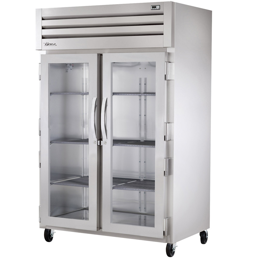 True STG2H-2G Specification Series Two Section Glass Door Reach In Heated Holding Cabinet