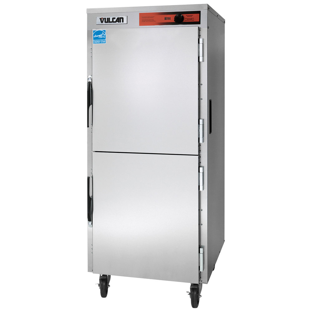 vulcan vbp18 full size insulated heated holding cabinet - 120v