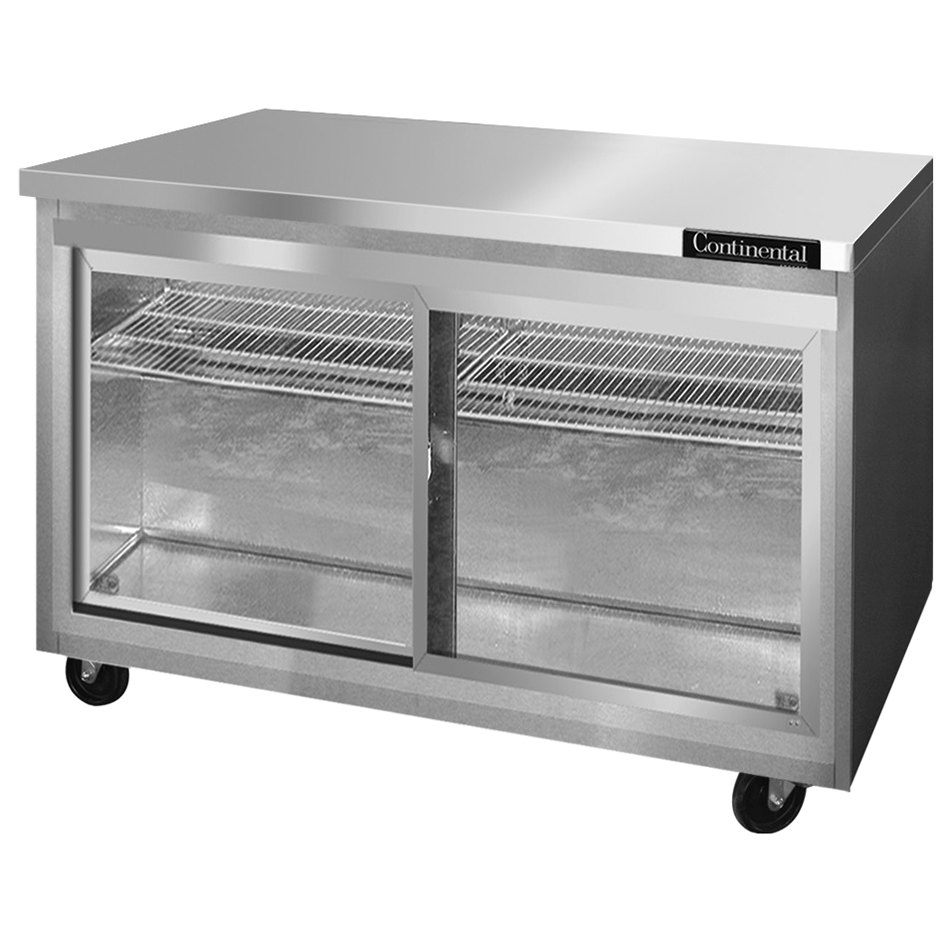 Continental Refrigerator SW48-SGD 48\