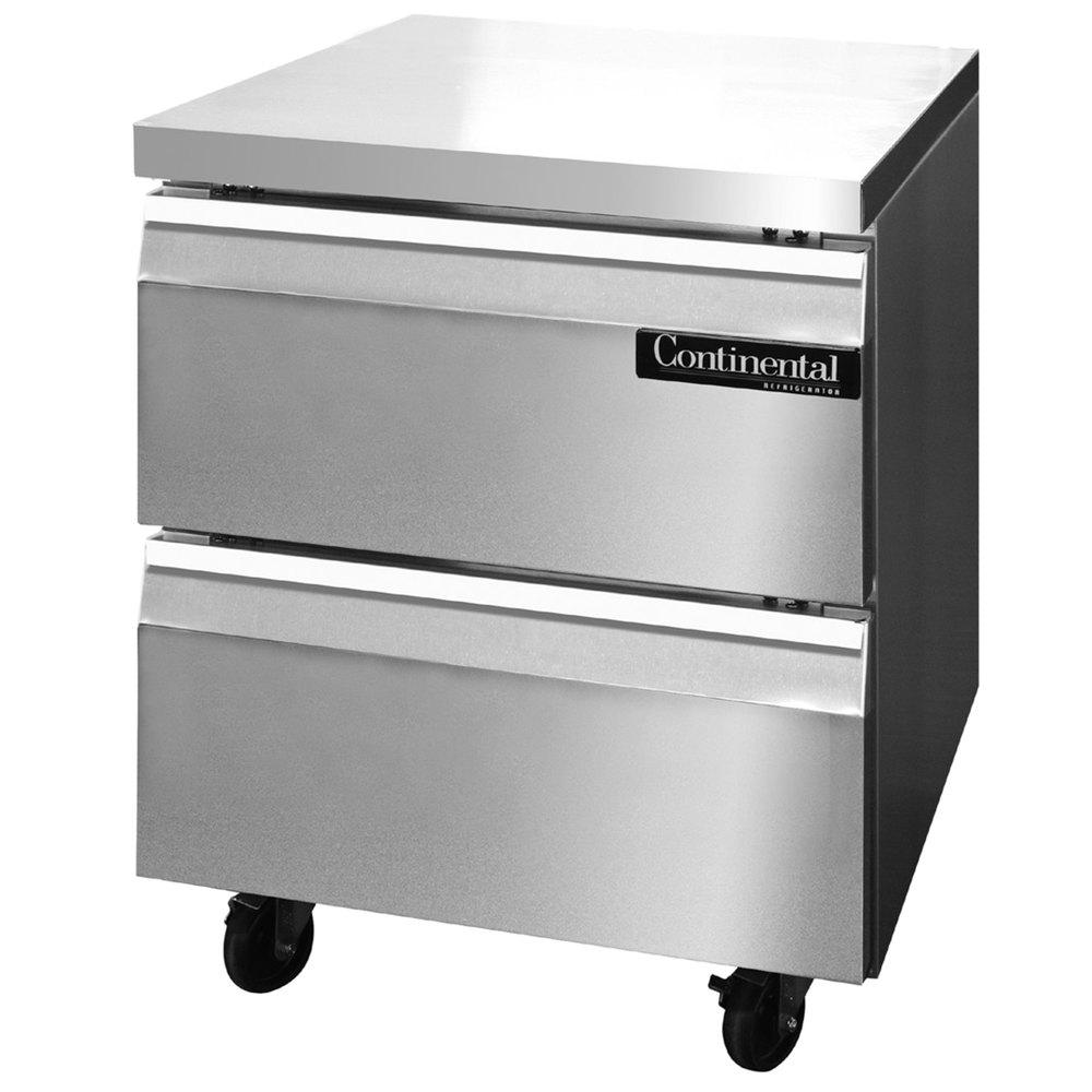 continental refrigerator swf27 d 27 undercounter freezer. Black Bedroom Furniture Sets. Home Design Ideas