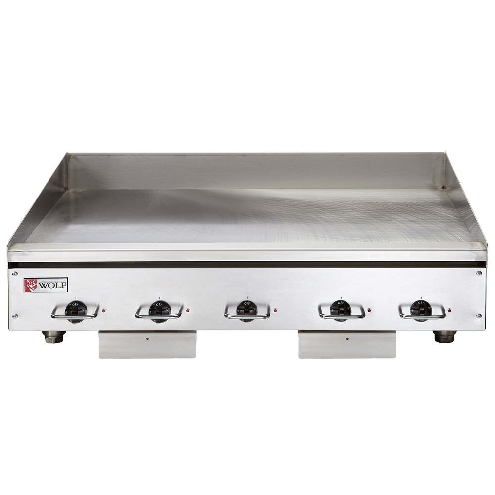 Electric Countertop Stove With Griddle : Wolf WEG60E-208/1 60