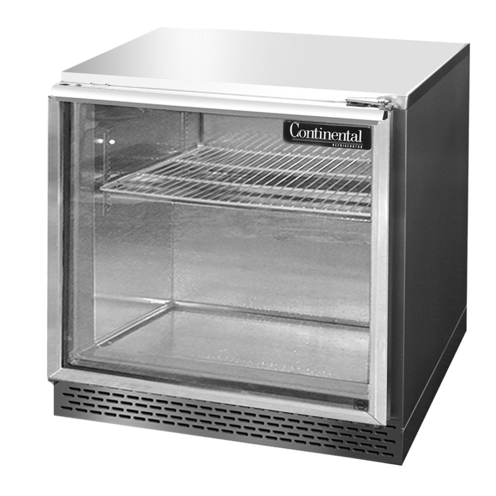 Continental Refrigerator Uc32 Gd 32 Low Profile Front