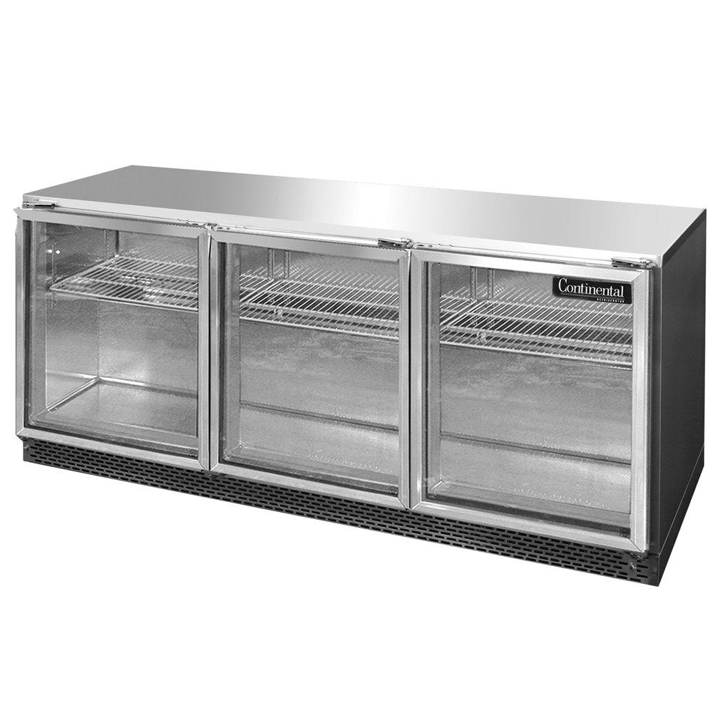 Continental Refrigerator SW72-U-GD 72\