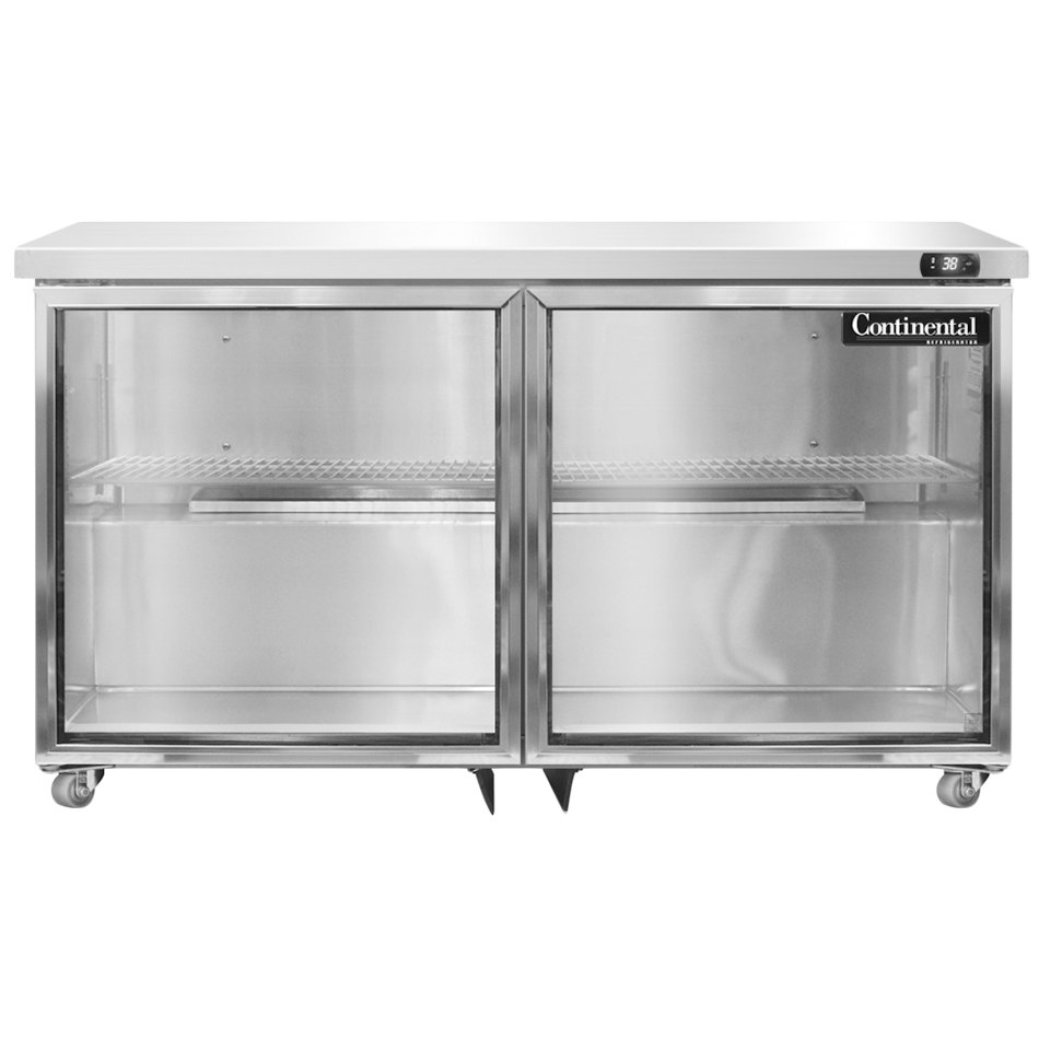 Continental Refrigerator Sw48 U Gd 48 Low Profile Front