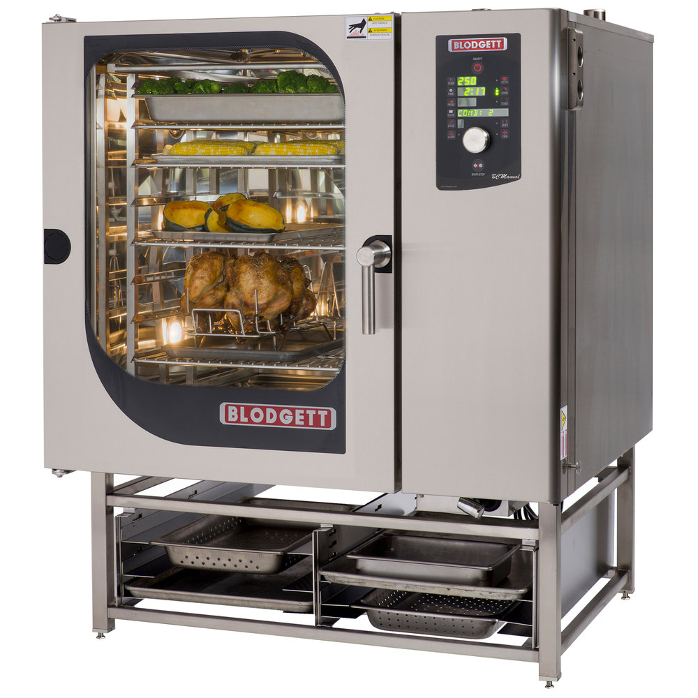 Blodgett BLCM-102E Boilerless Electric Combi Oven with Dial Controls - 208V, 3 Phase, 27 kW