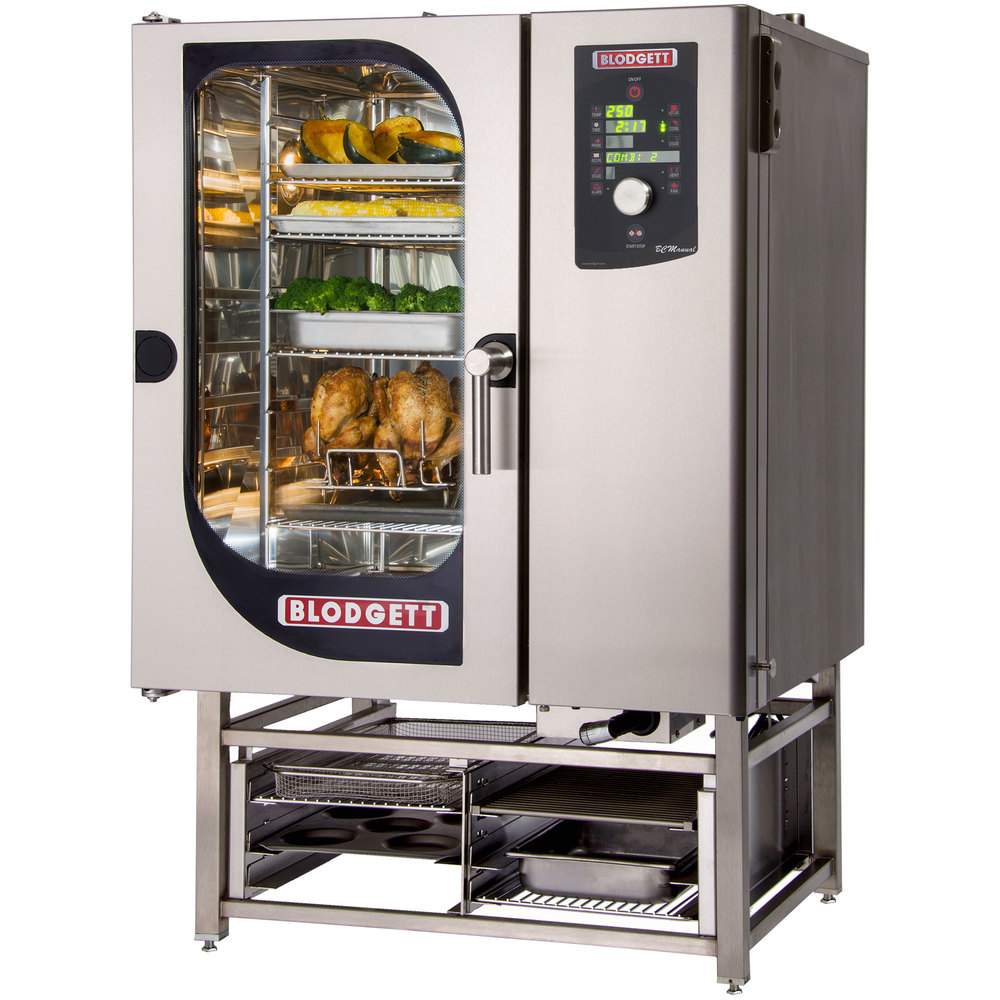 Blodgett Bcm 101e Pt Pass Through Electric Combi Oven With