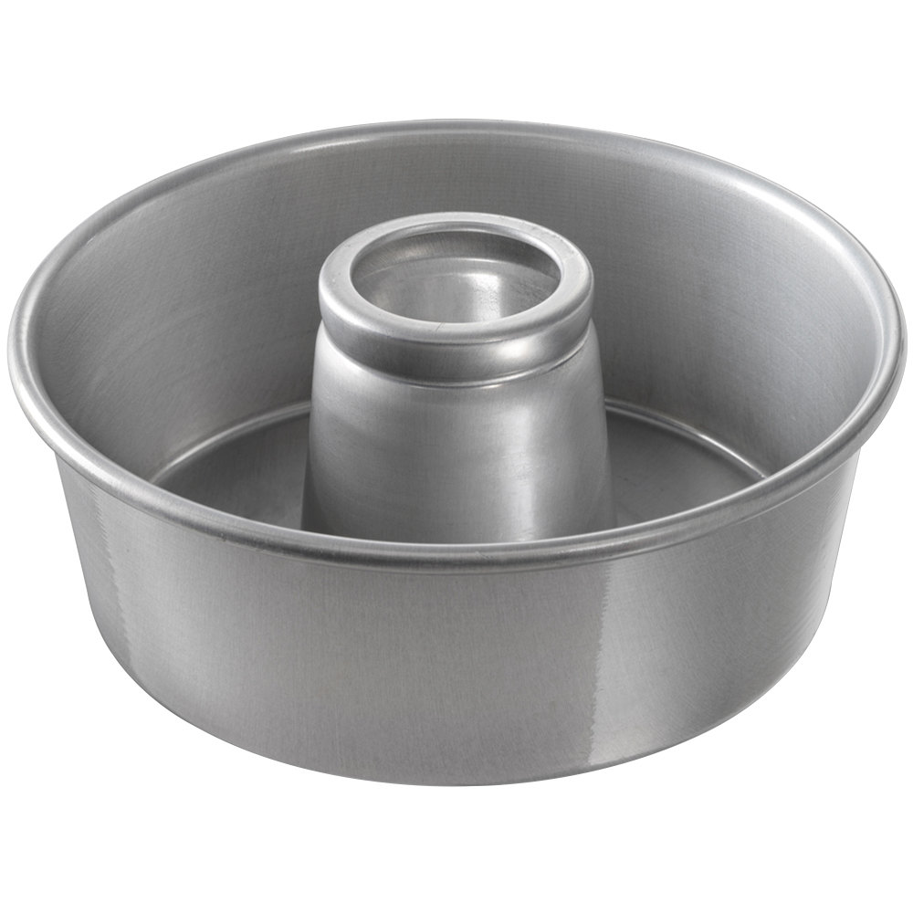 angel food cake pan chicago metallic 46560 10 quot aluminum customizable 1304