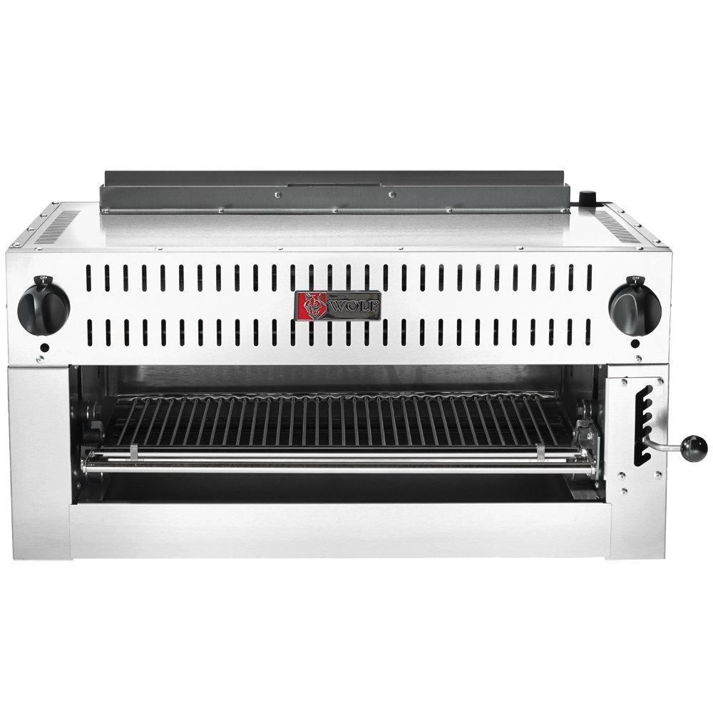 Salamander Kitchen Appliance C36irb P Liquid Propane 36 Infrared Salamander Broiler 30000 Btu