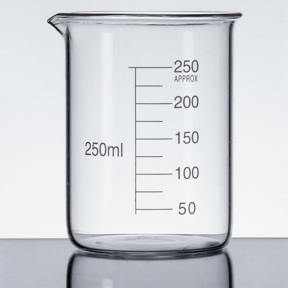 Libbey 56805 Chemistry Bar 8 5 Oz 250 Ml Beaker Glass
