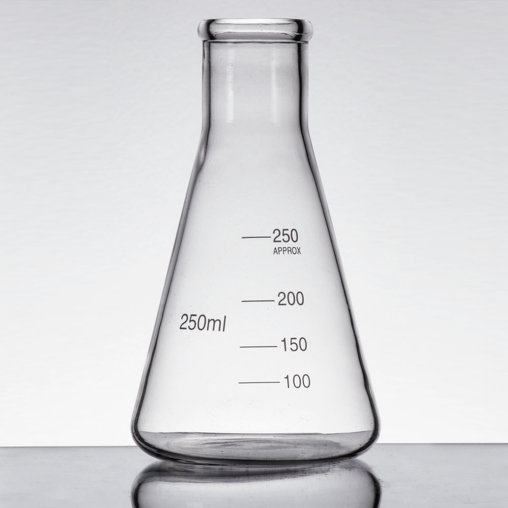 Libbey 56808 Chemistry Bar 8 5 Oz 250 Ml Erlenmeyer