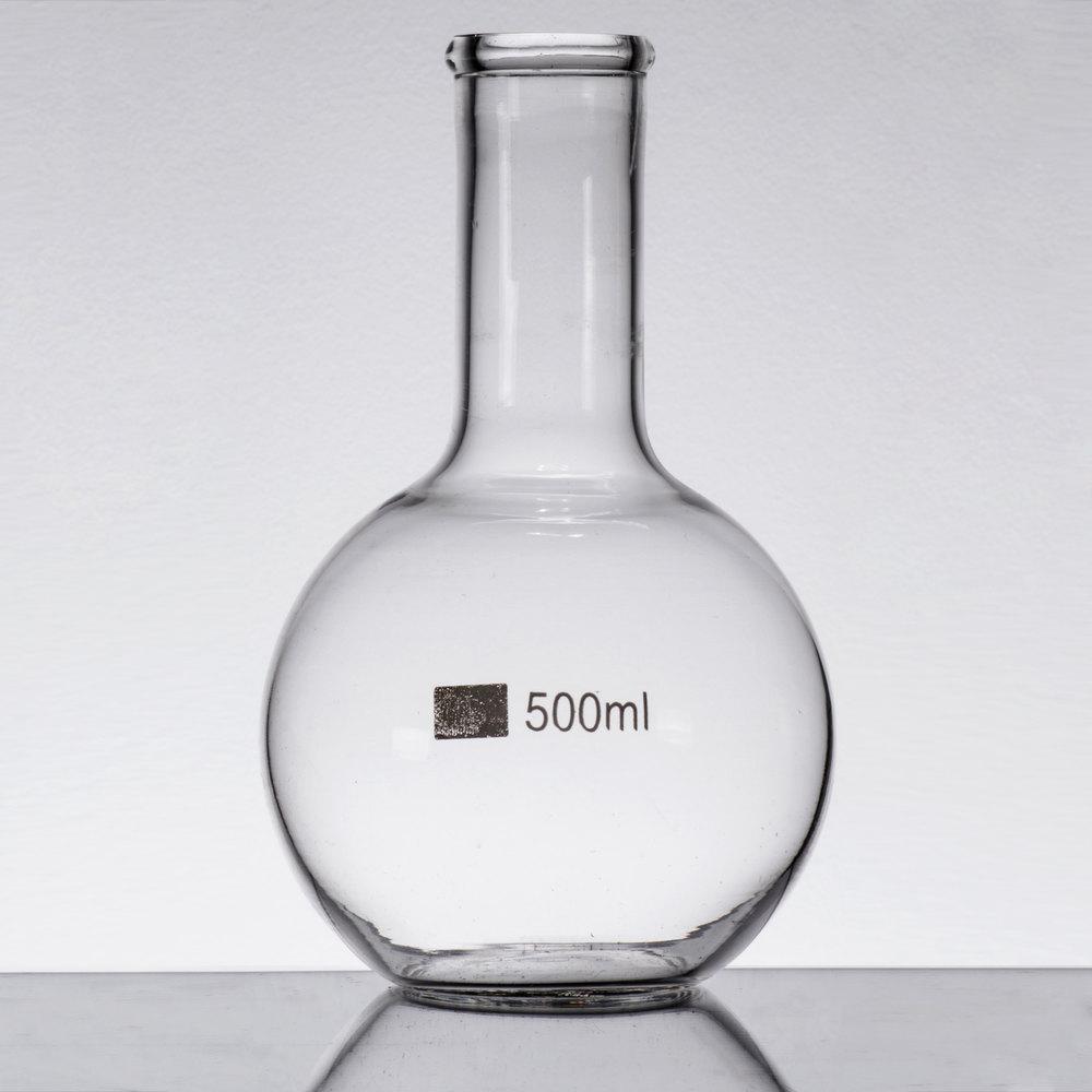 Libbey 56812 Chemistry Bar 17 oz. (500 mL) Round Flask ...