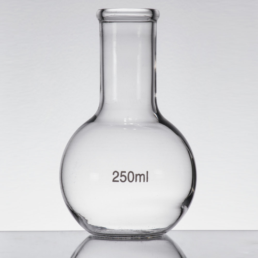 Libbey 56811 Chemistry Bar 8 5 Oz 250 Ml Round Flask