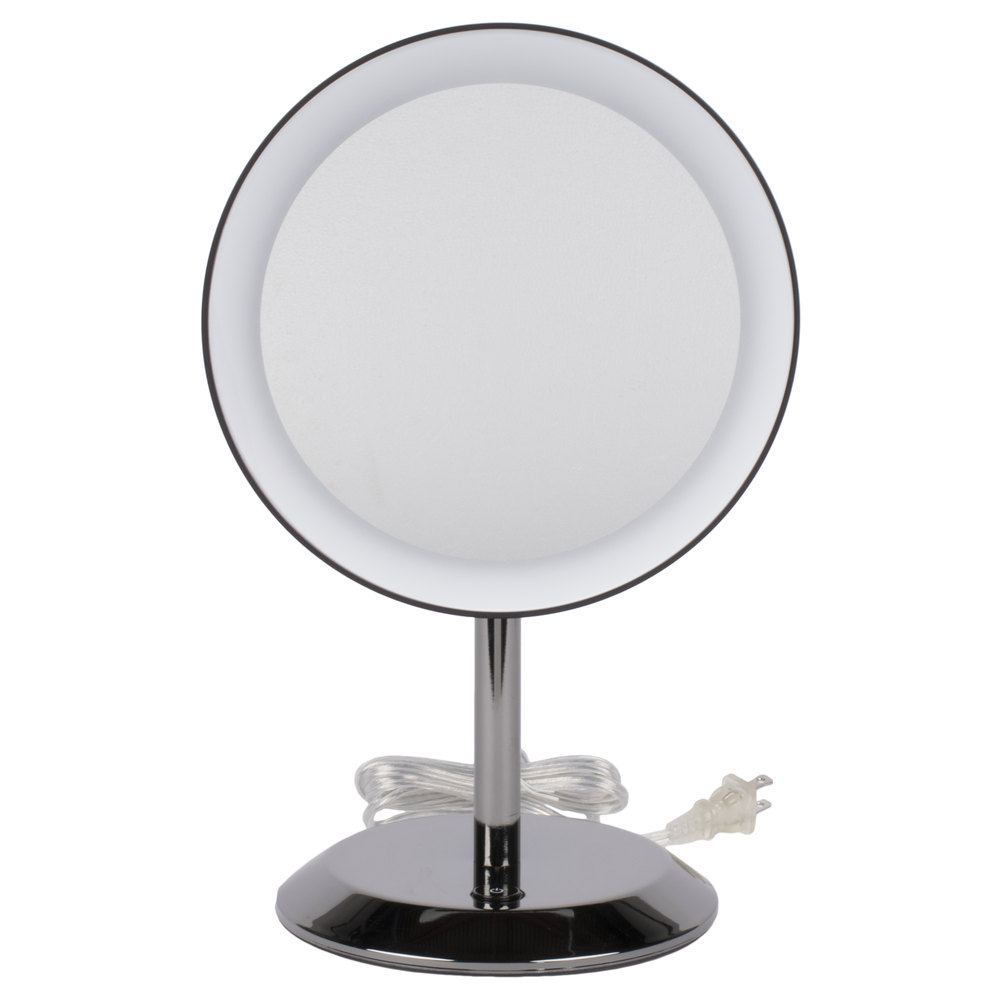 Lighted Vanity Mirror Chrome : Conair BE50LBCHW 9