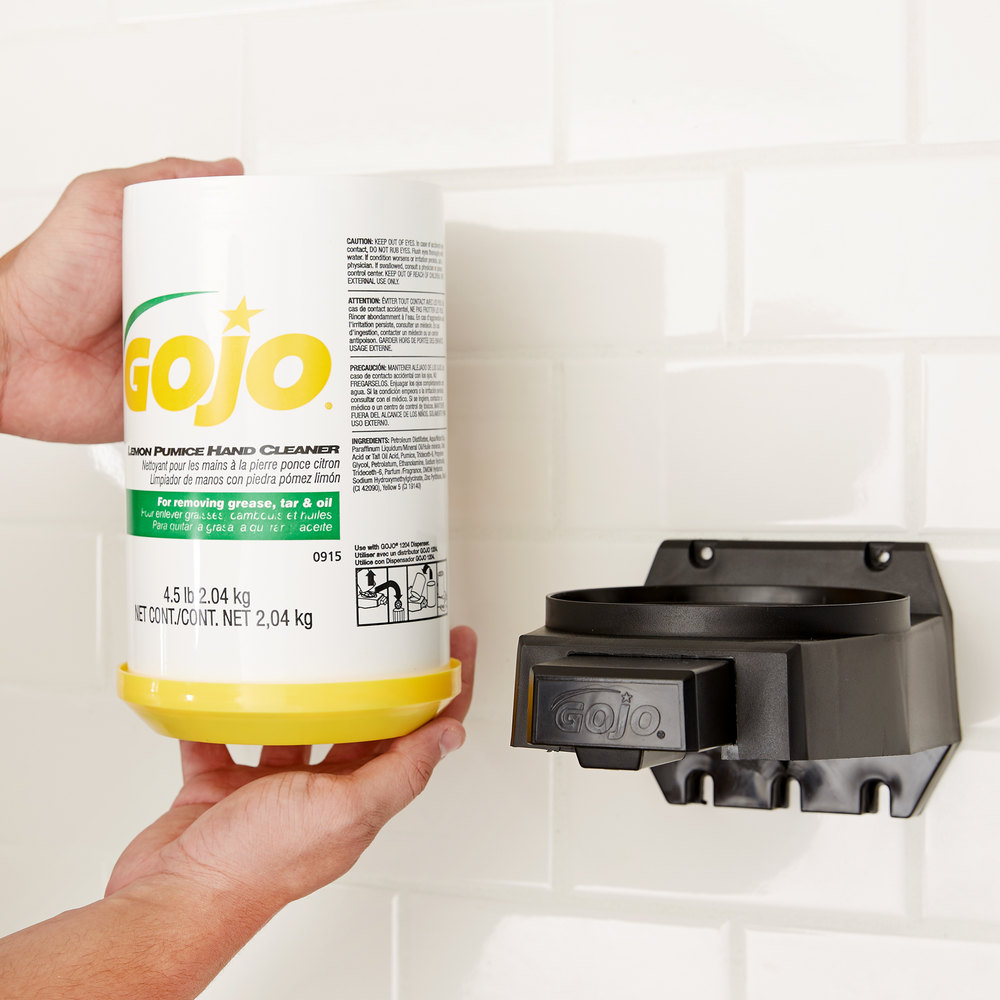 Gojo 174 0915 06 4 5 Lb Lemon Pumice Hand Cleaner