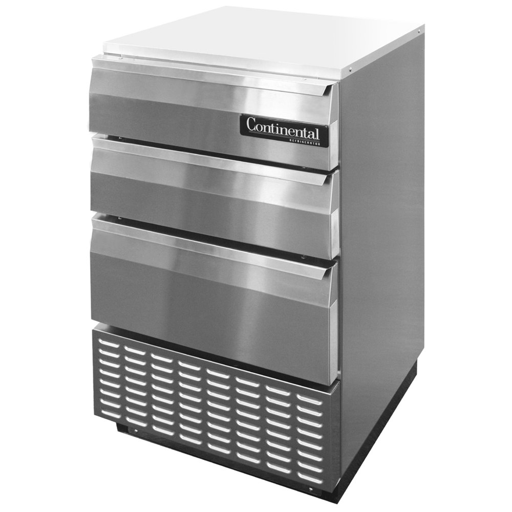 Continental Refrigerator Bbuc24s Ss D 24 Quot Stainless Steel