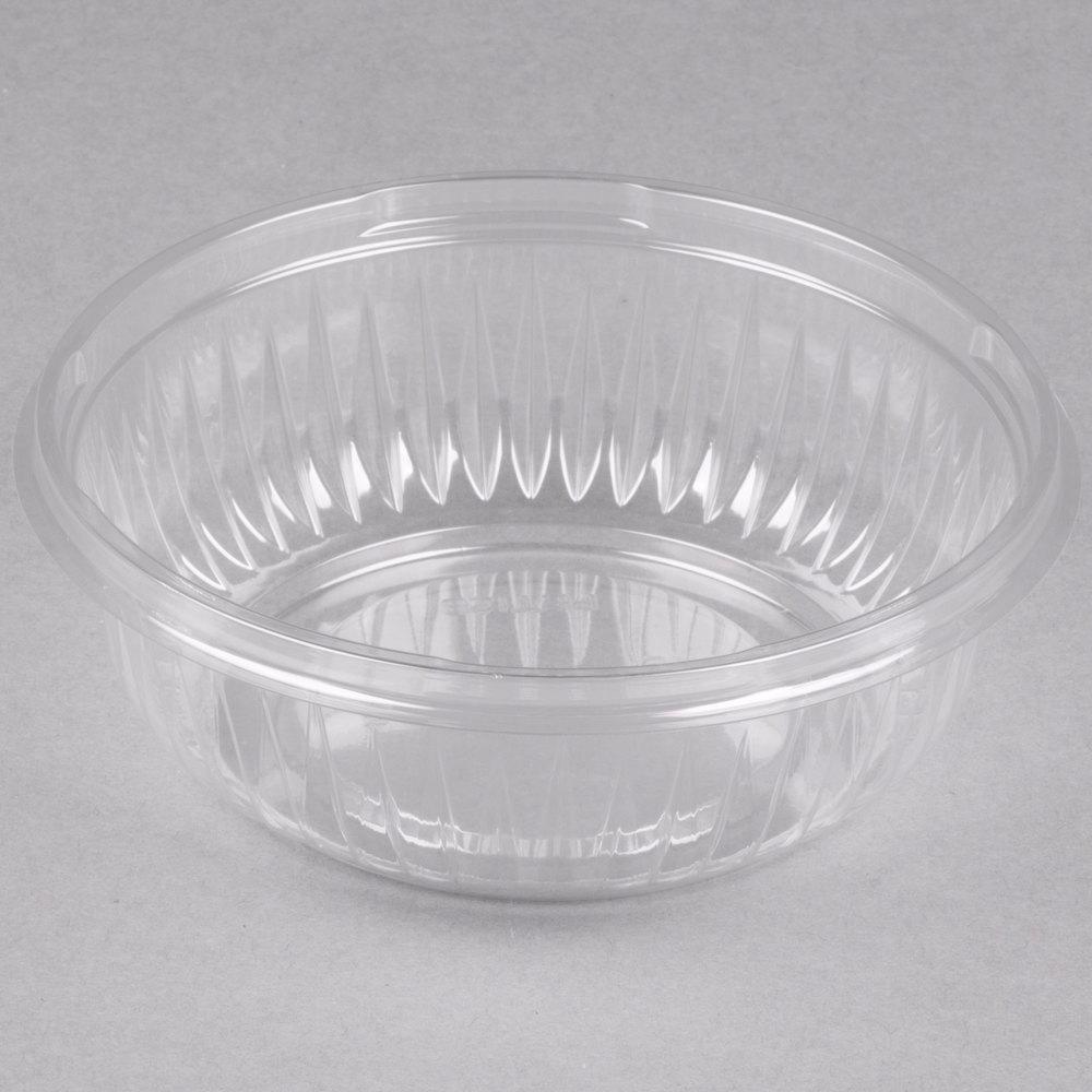 Dart Solo PET12B PresentaBowls 12 oz. Clear Plastic Bowl ...