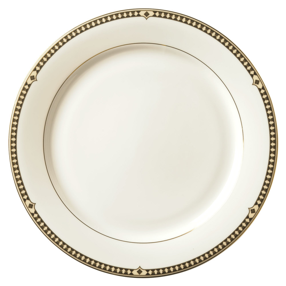 ... China Dinner Plate - 12/. Main Picture  sc 1 st  WebstaurantStore & Syracuse China 911191001 Baroque 10 1/2\