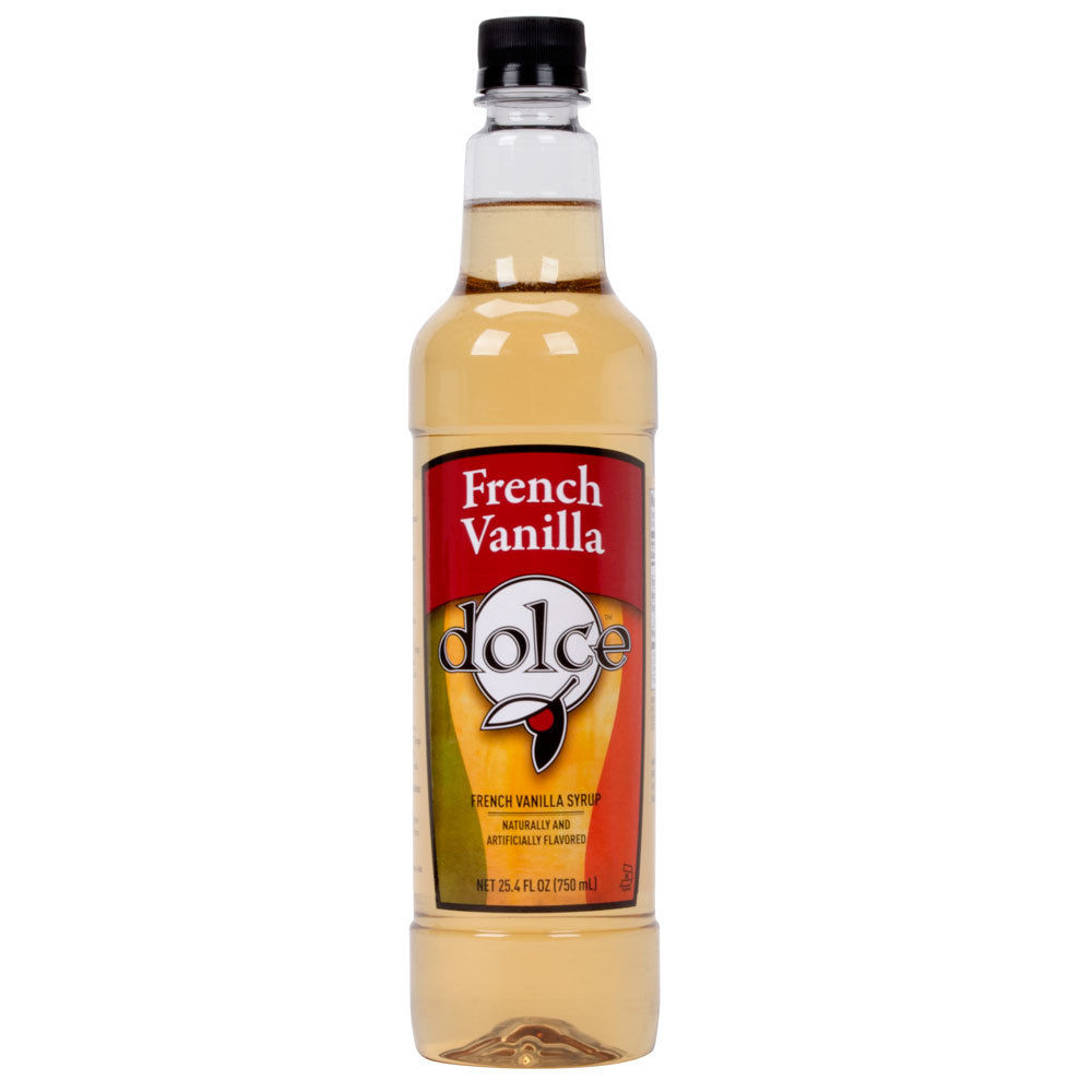 Dolce French Vanilla Coffee Flavoring Syrup
